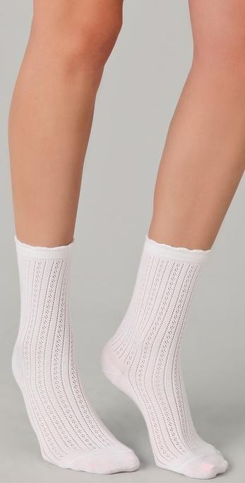 Falke Structured Pointelle Socks
