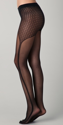 Falke Galloon Pinstripe Tights