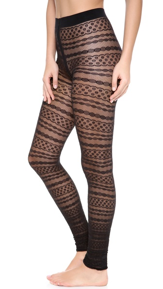 Falke Fine Brodure Leggings