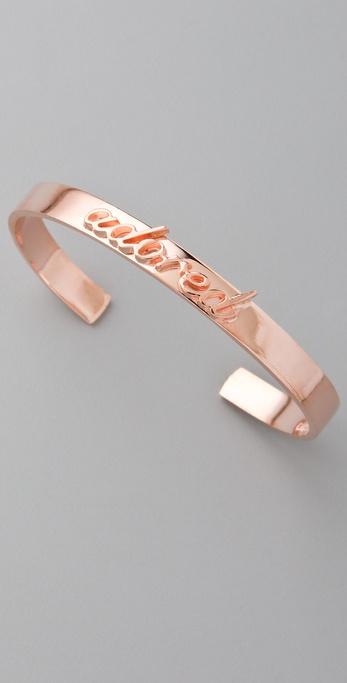 Fallon Jewelry Small Adored ID Cuff