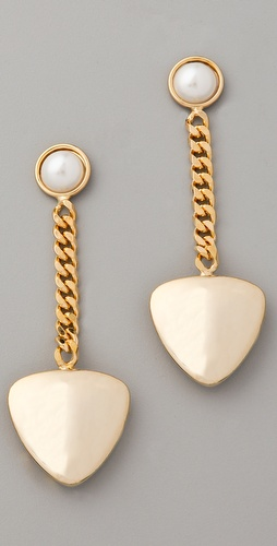 Fallon Jewelry Classique Pearl Drop Earrings