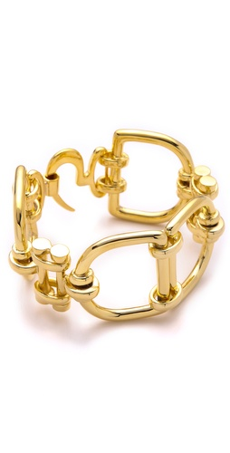 Fallon Jewelry Classique D Ring Bracelet
