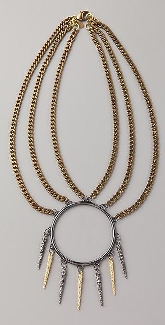 Fallon Jewelry Tatjana Three Strand Necklace
