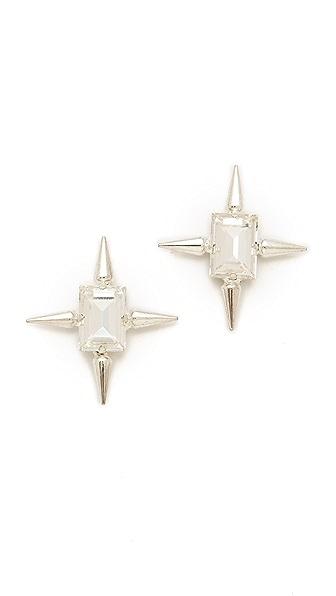 Fallon Jewelry Classique Micro Spike Studs