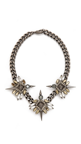 Fallon Jewelry Triple Winged Necklace