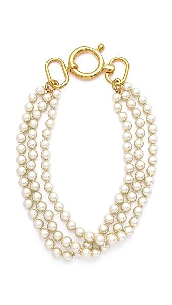 Fallon Jewelry Classique Triple Strand Necklace