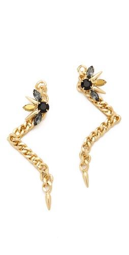 Fallon Jewelry Pointed Drops Earrings