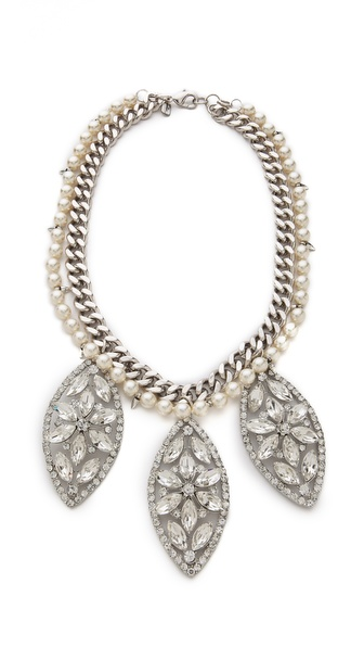 Fallon Jewelry FOREVER Regalia Bib Necklace