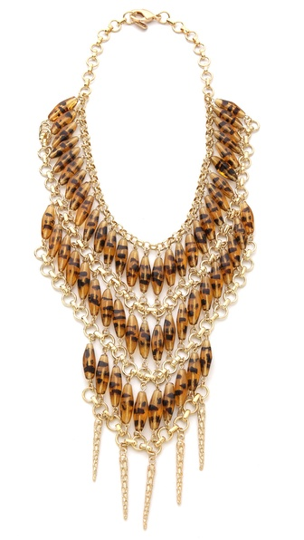Fallon Jewelry Durango Beaded Bib Necklace