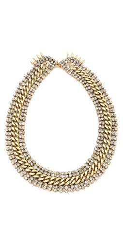 Shop Fallon Jewelry Roswell V Collar and Fallon Jewelry online - Accessories,Womens,Jewelry,Necklace, online Store