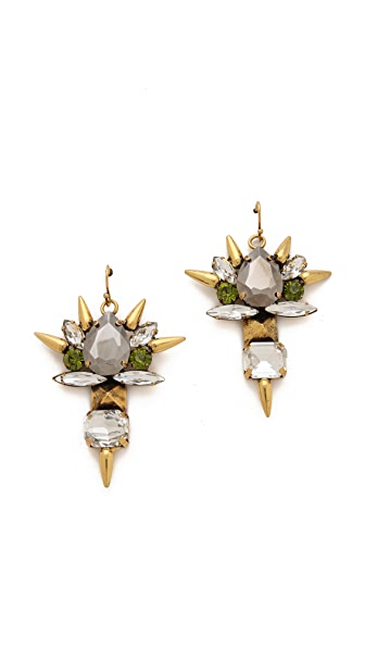 Fallon Jewelry Roswell Micro Spike Cluster Earrings
