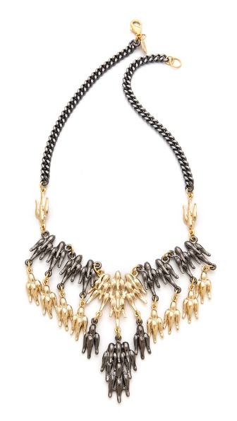 Fallon Jewelry Winged Bib Necklace