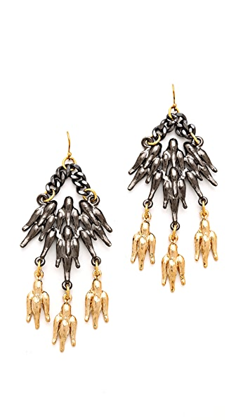 Fallon Jewelry Winged Chandelier Earrings