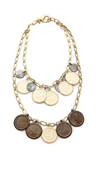 Fallon Jewelry Coin Bib Necklace