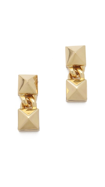 Fallon Jewelry Signature Pyramid Earrings