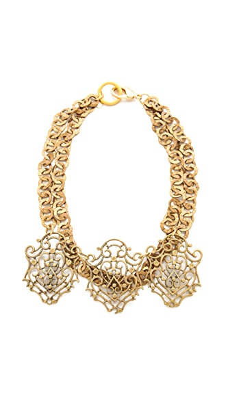 Fallon Jewelry Filigree Bib Necklace