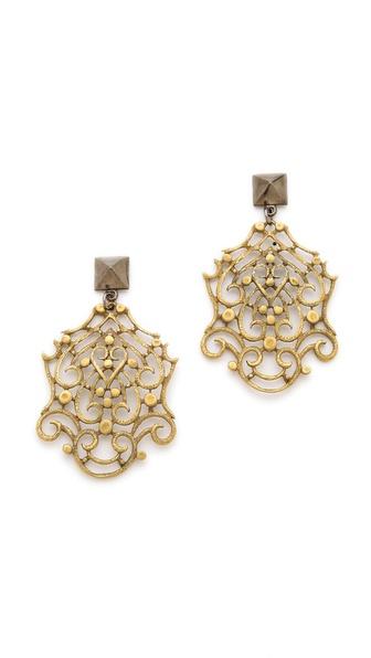 Fallon Jewelry Filigree Earrings