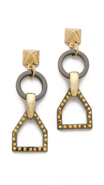 Fallon Jewelry Hex Earrings