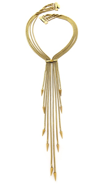 Fallon Jewelry Snake Tassel Necklace