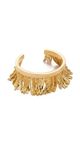 Fallon Jewelry Liquid Fringe Cuff Bracelet
