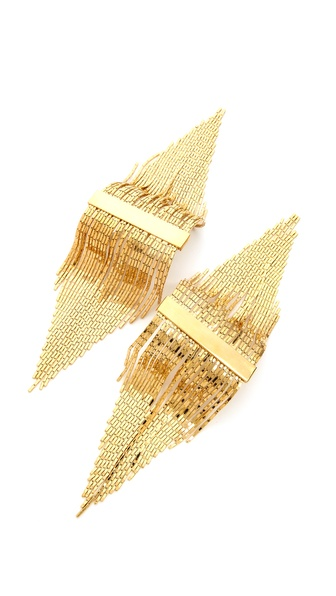 Fallon Jewelry Liquid Fringe Pin Epaulet Set