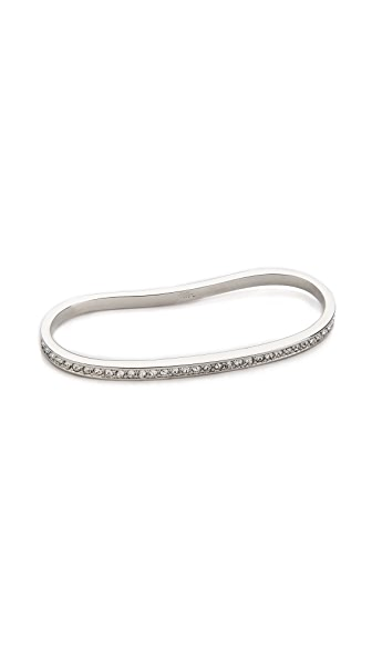 Fallon Jewelry Pave Palm Cuff Bracelet