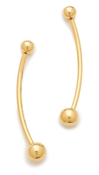 Fallon Jewelry Shalom Ball Earrings