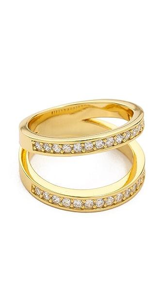 Fallon Jewelry Pave Split Ring