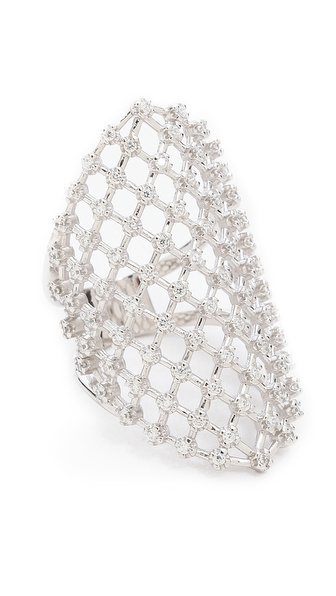 Fallon Jewelry Fishnet Ring