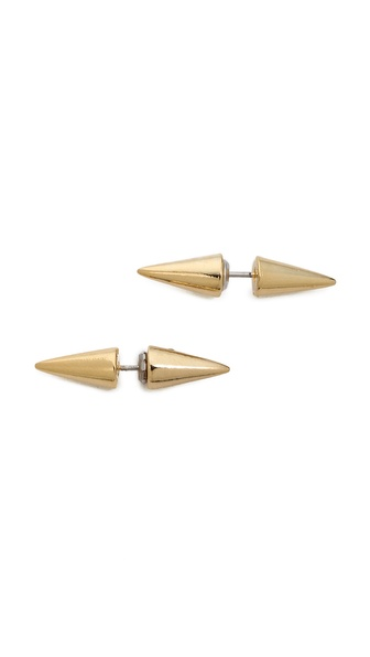 Fallon Jewelry Double Microspike Earrings