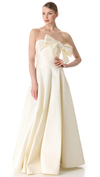 Fancy Victoria Strapless Dress