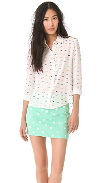 Friends & Associates Chika Button Down Shirt