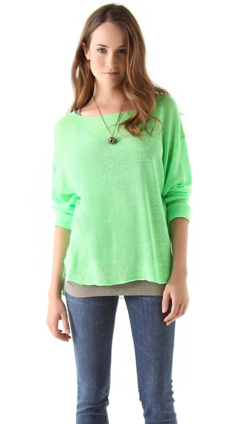 Feel The Piece Boat Neck Tunic