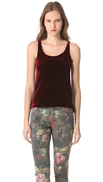 Feel The Piece Giselle Velvet Tank