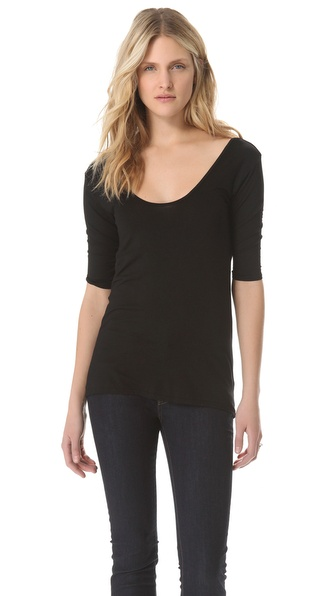 Feel The Piece St. Tropez Drape Back Top