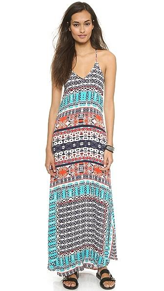 Макси-платье Felicite. Цвет: мульти