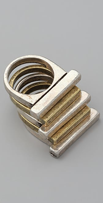 FELIKS+ADRIK Stacking Bar Ring Set