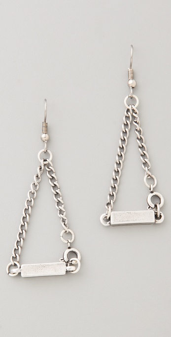 FELIKS+ADRIK Single Bar Earrings
