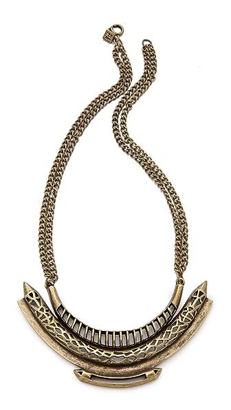 FELIKS+ADRIK Cutout Python Necklace