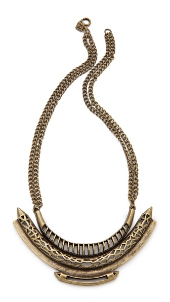 FELIKS+ADRIK Cutout Python Necklace