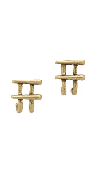 FELIKS+ADRIK Double Cuff Earrings