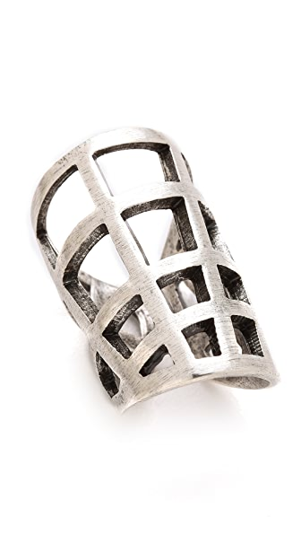 FELIKS+ADRIK Cutout Shell Ring