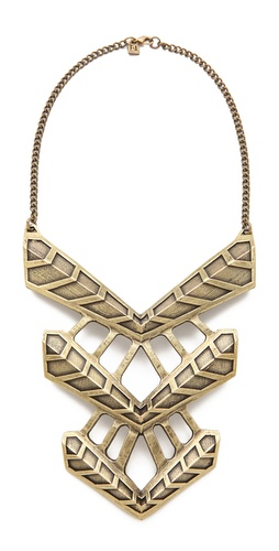 FELIKS+ADRIK Turritella Chest Plate Necklace