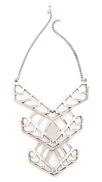 FELIKS+ADRIK Cutout Turritella Plate Necklace
