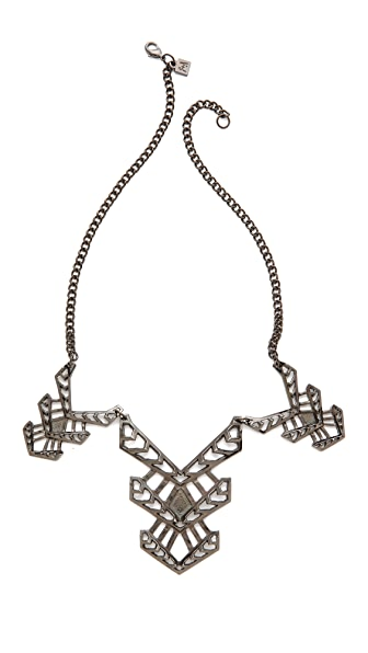 FELIKS+ADRIK Multi Cutout Turritella Necklace