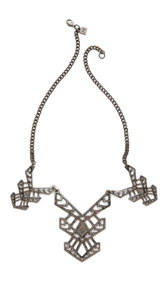 FELIKS+ADRIK Multi Cutout Turritella Necklace
