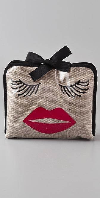 Felix Rey Kissy Face Medium Cosmetic Bag
