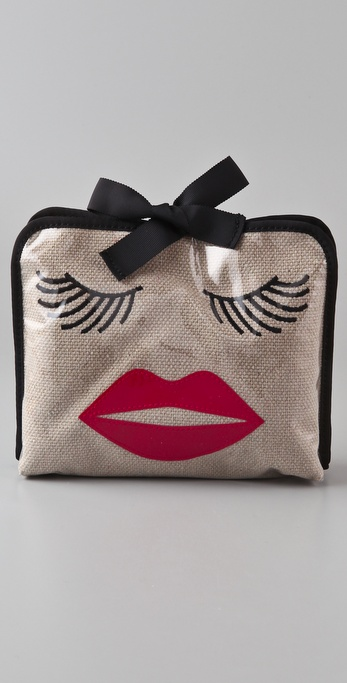 Felix Rey Kissy Face Medium Cosmetic Bag