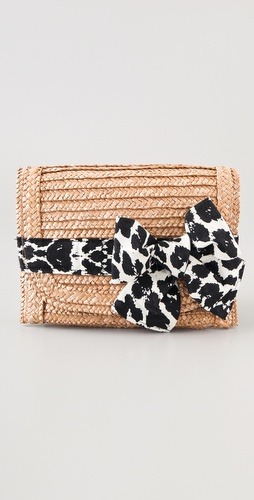 Felix Rey Miss Priss Leopard Clutch