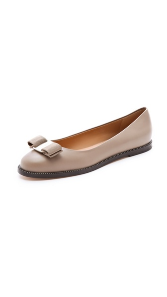 Salvatore Ferragamo Tanuja Bow Flats